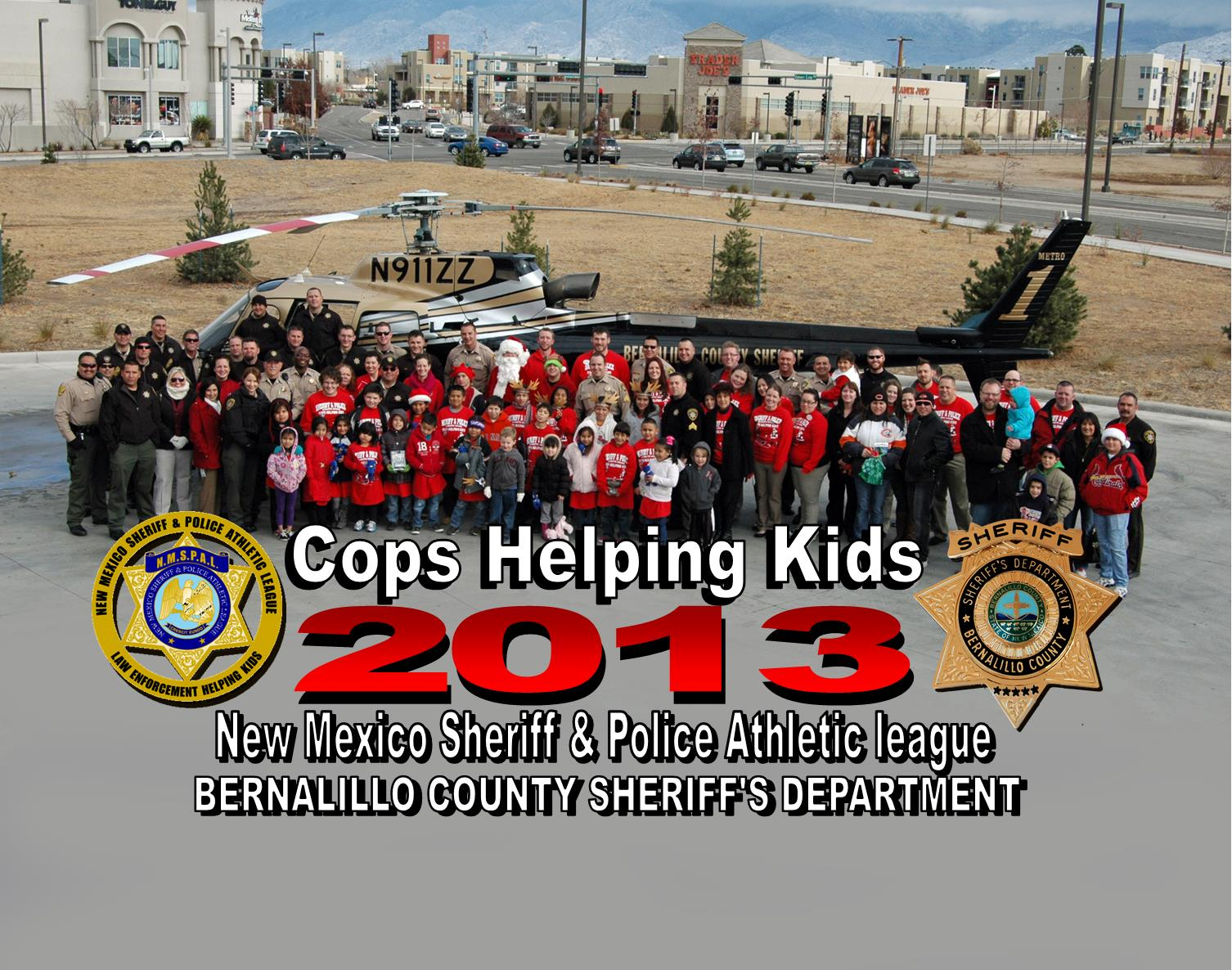 2013 NMSPAL Cops for Kids Group Photo