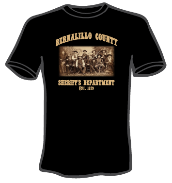 bcso established 1879 t-shirt