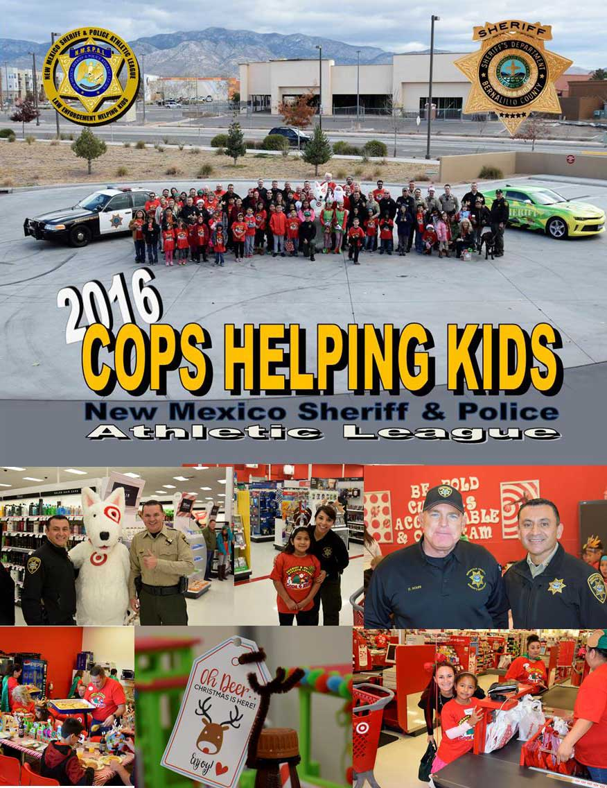 2016 cops for kids collage